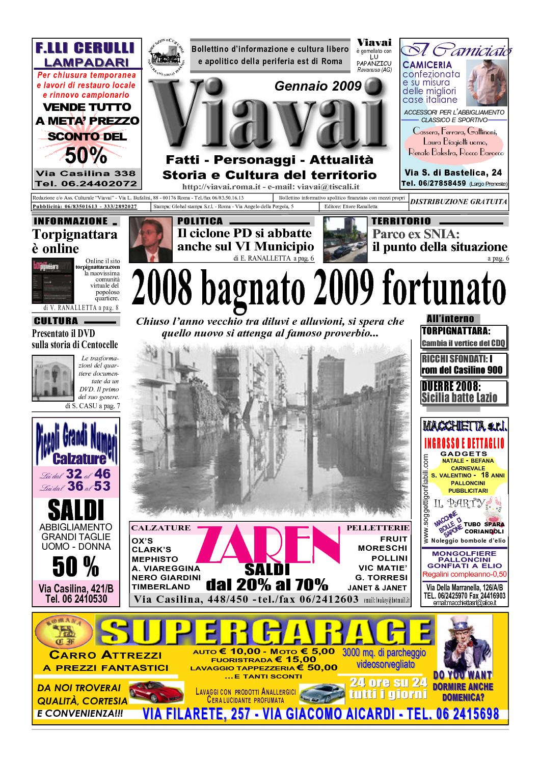 Calaméo - Viavai - Gennaio 2009 22f617cd13e