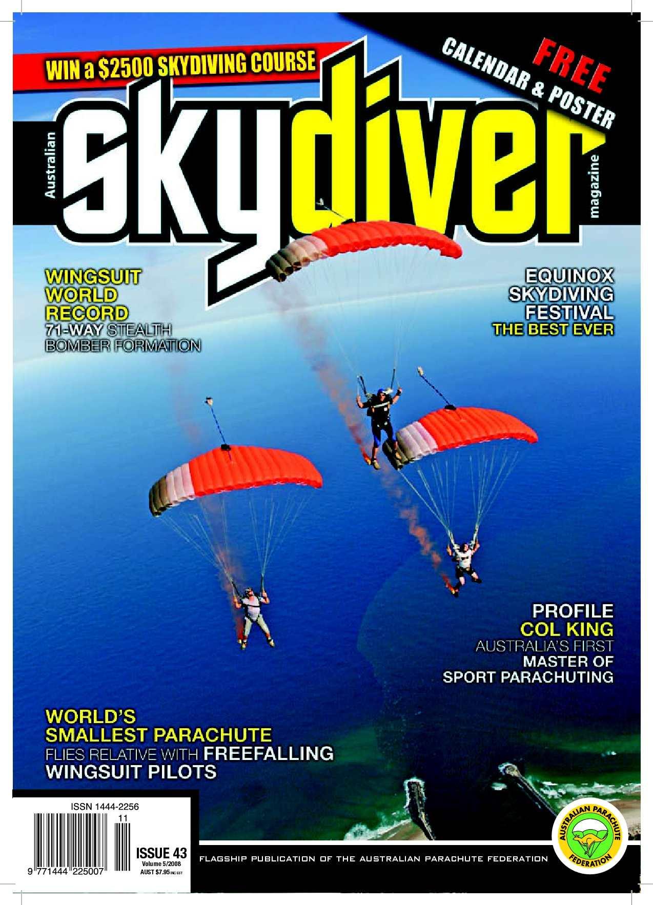 Calaméo - Australian SKYDIVER Magazine Issue 43