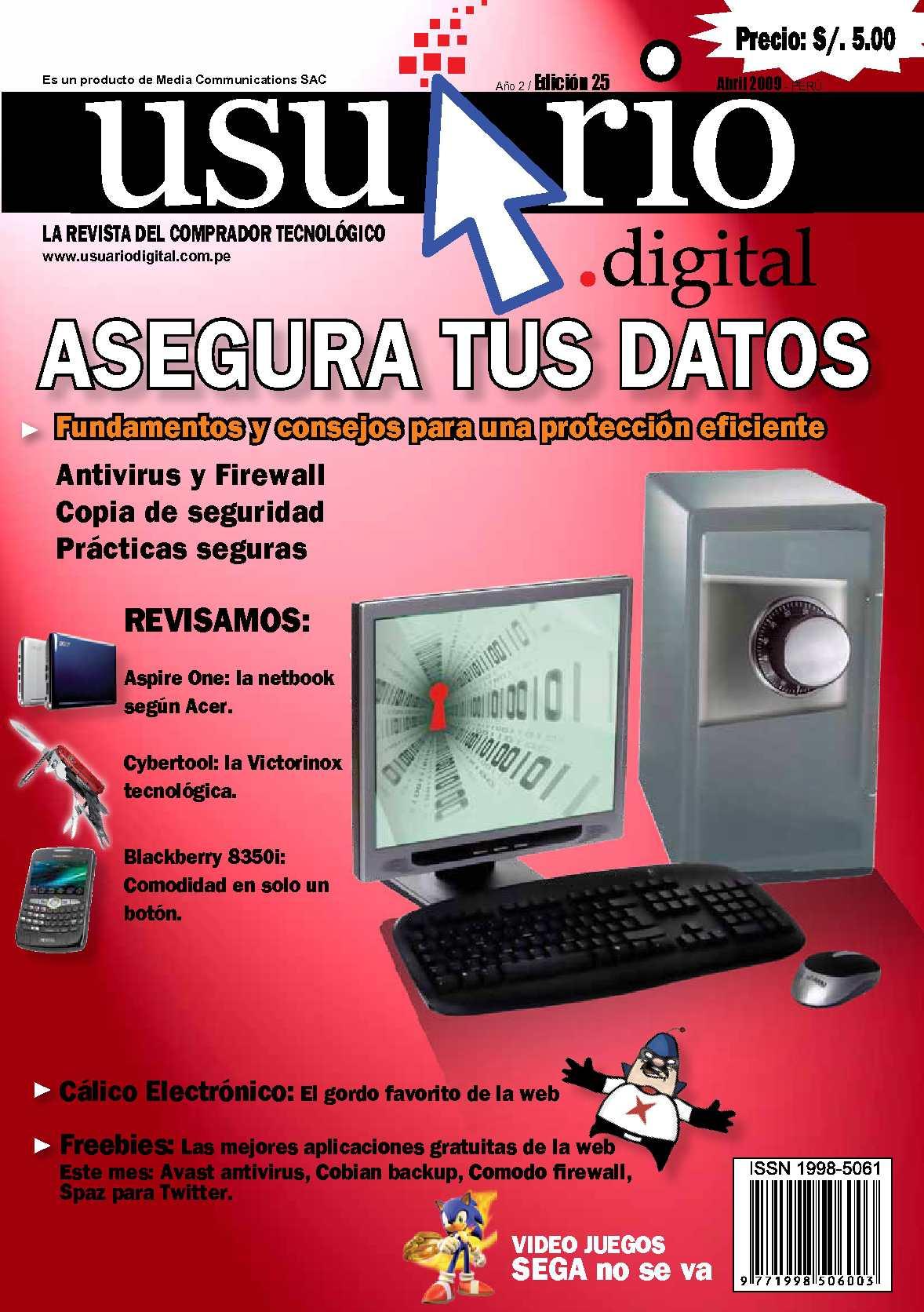 Calaméo - Usuario Digital