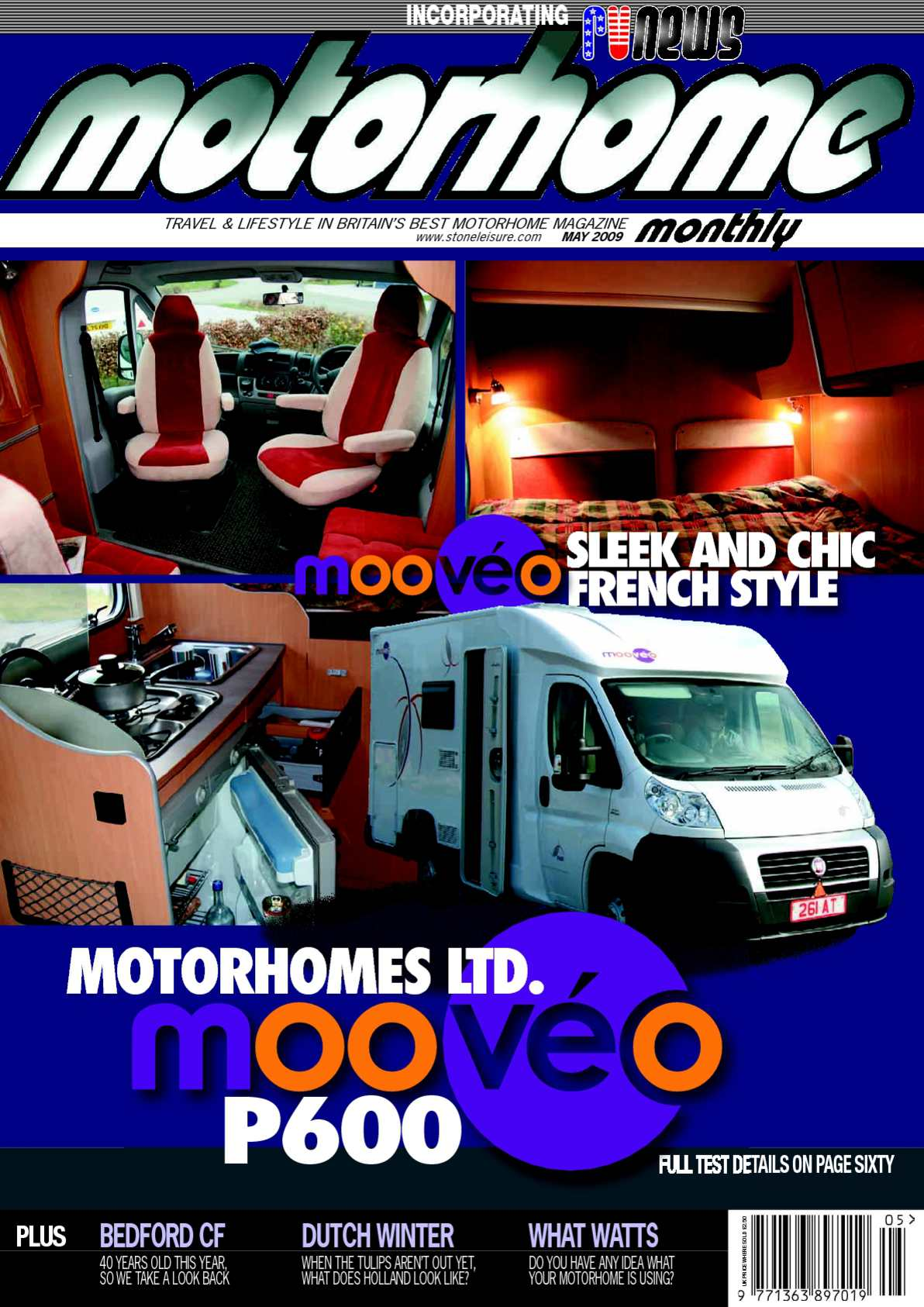 Calamo May 2009 Motorhome Monthly Magazine Ford Jubilee Coil Wiring 12v
