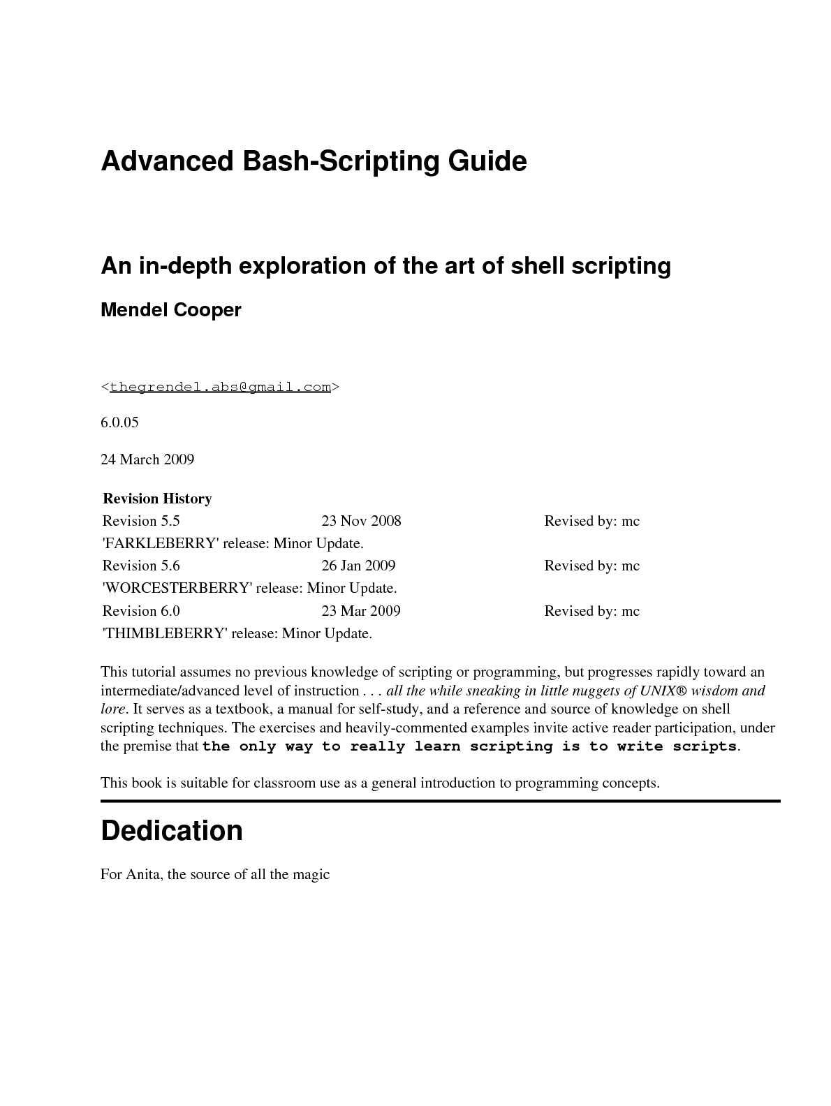 Calaméo - Advanced Bash-Scripting Guide