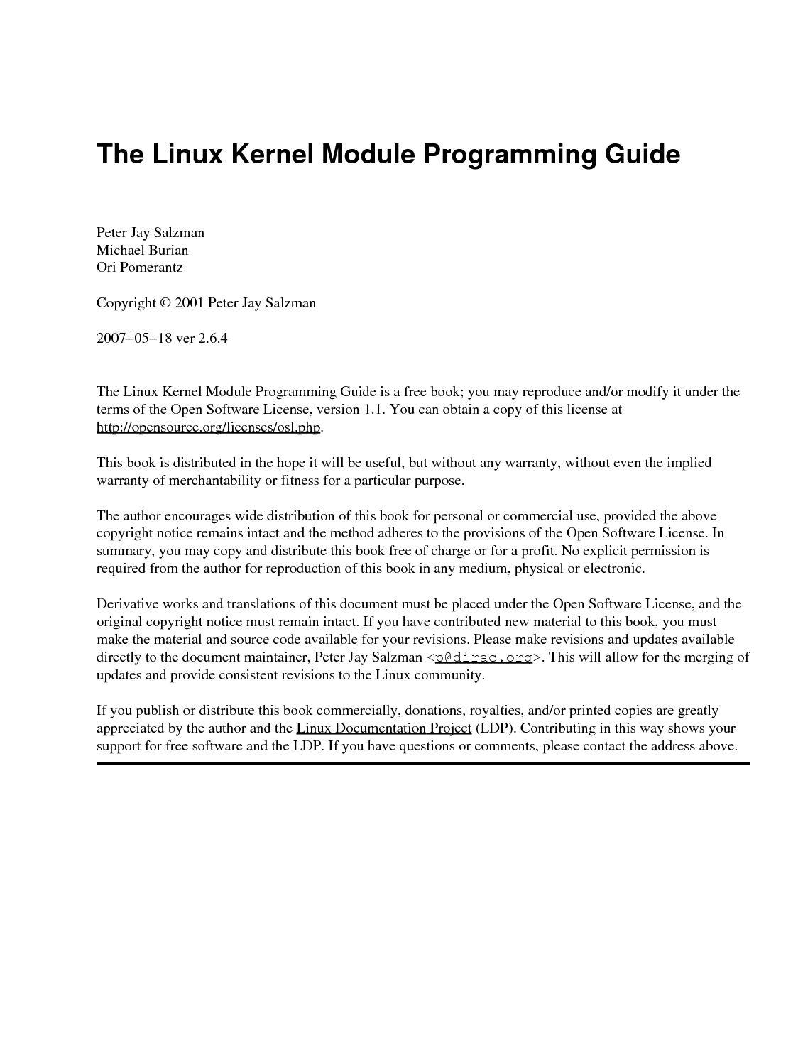 linux kernel module dependencies makefile