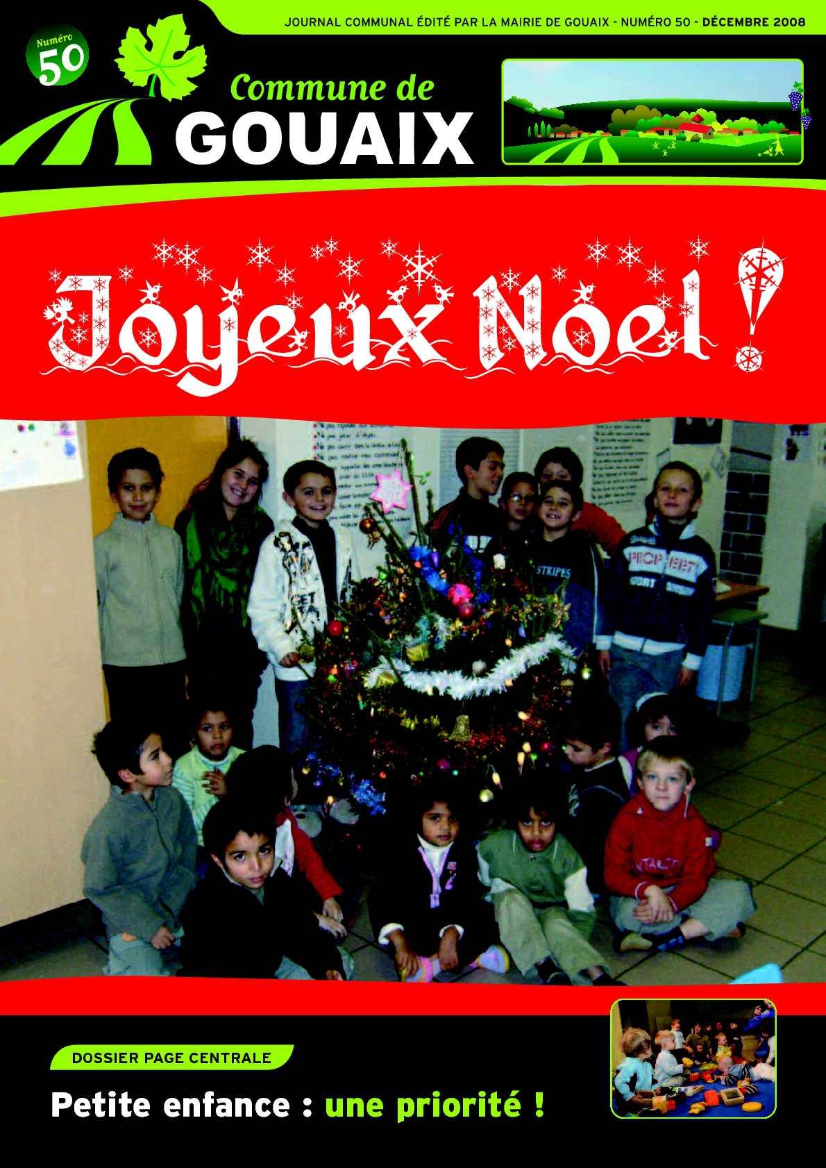 Calaméo Gouaix Info N50 Décembre 2008