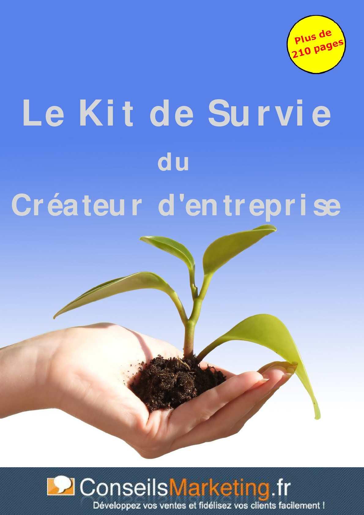 Survie Du Créateur Kit De D'entreprise Calaméo Le fYbvgy76