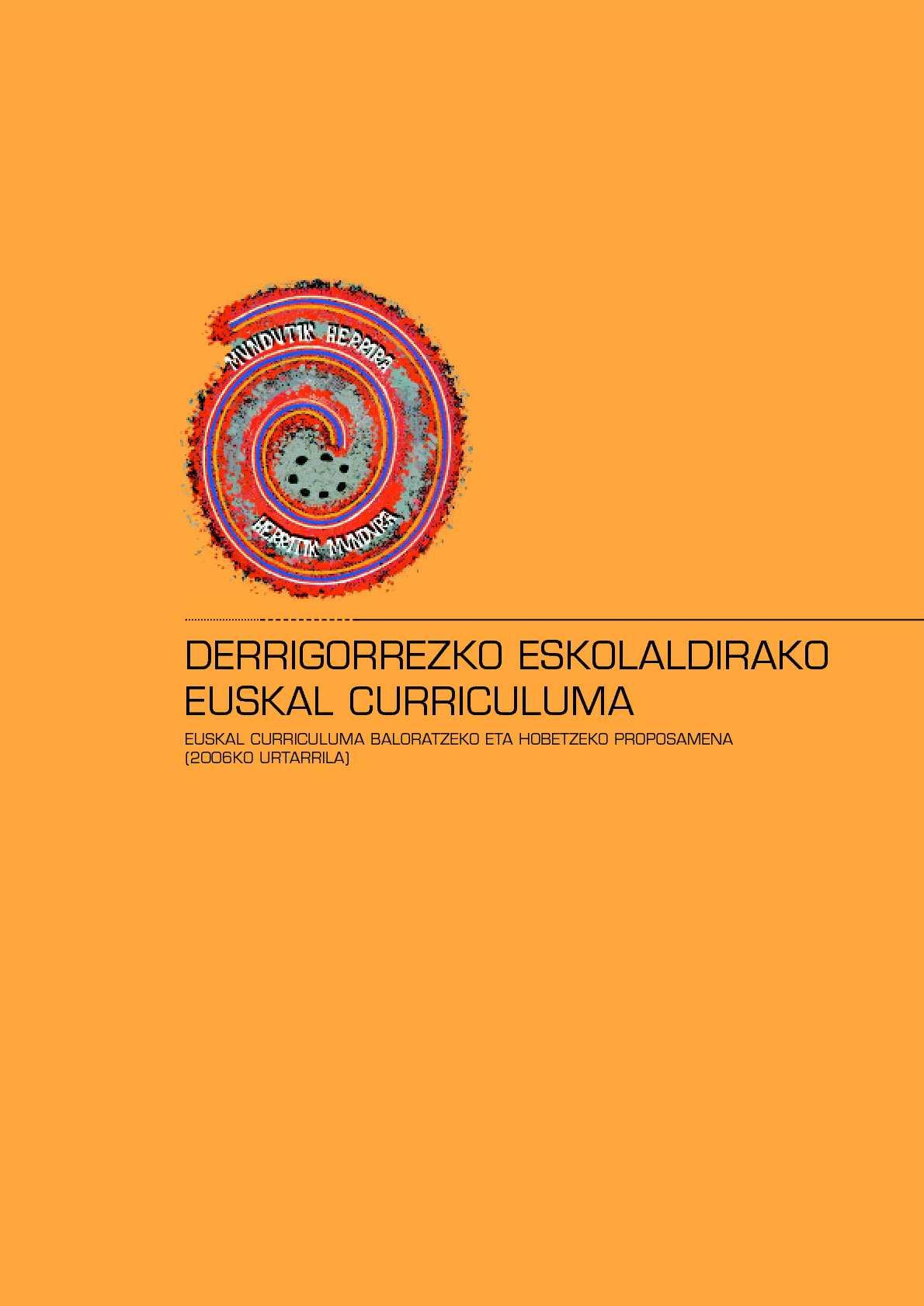 Calaméo Euskal Curriculuma