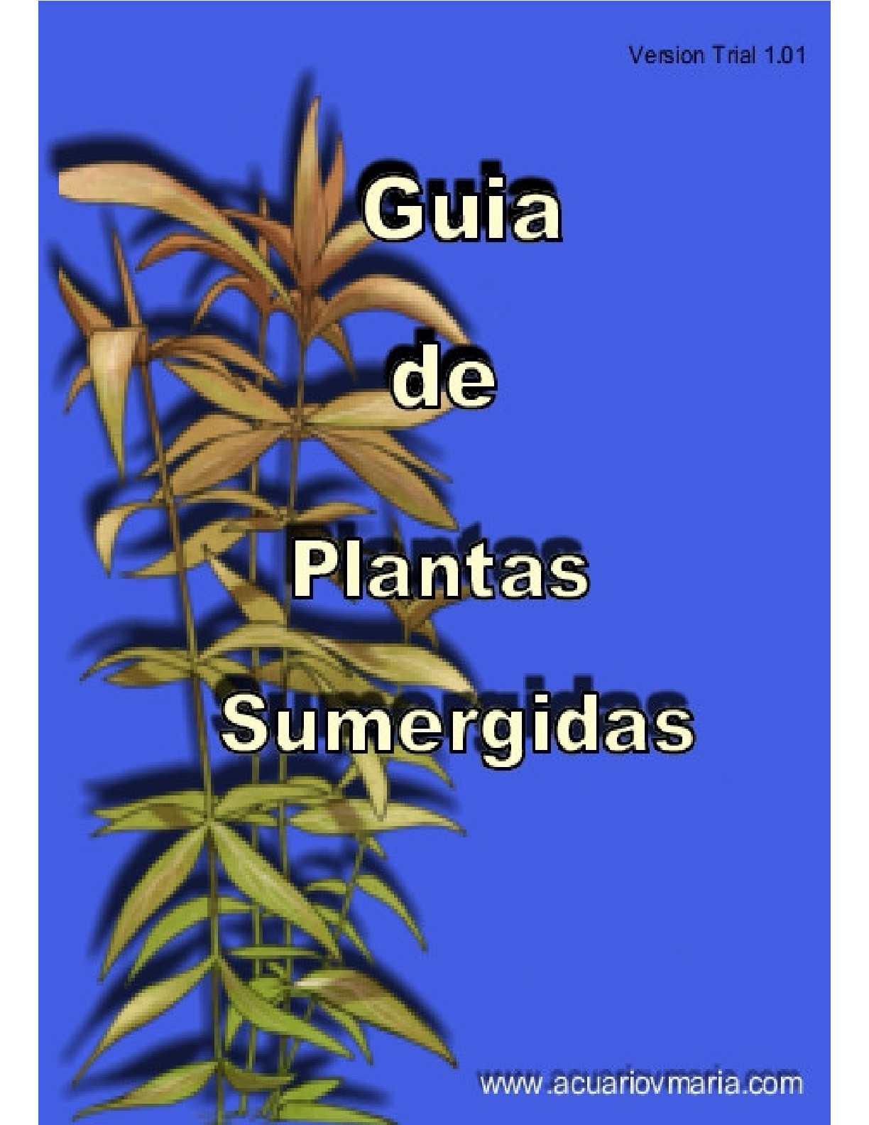 Calaméo - Guia De Platas Acuaticas Sumergidas 75f5db47c91