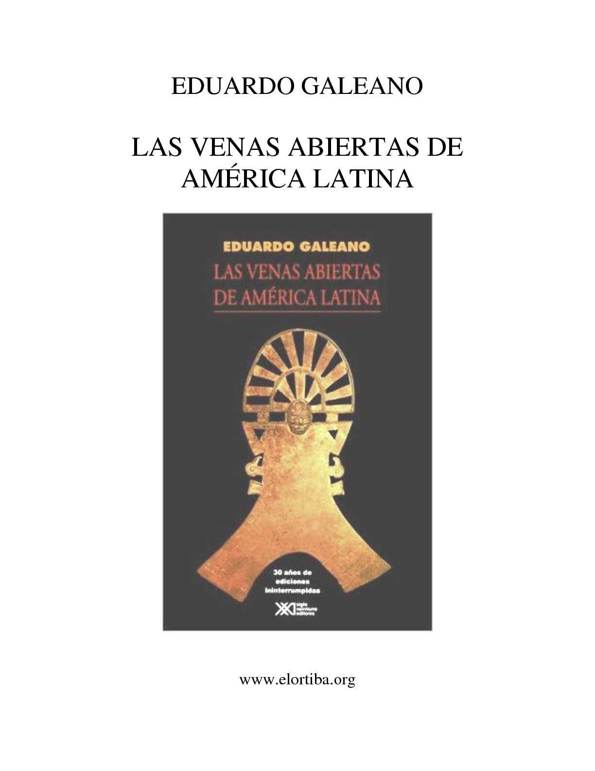 Calaméo - Eduardo Galeano - Las Venas abiertas de America Latina 1b51ca1c08b