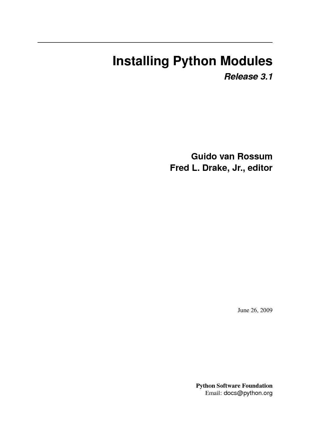 Python distutils install scripts