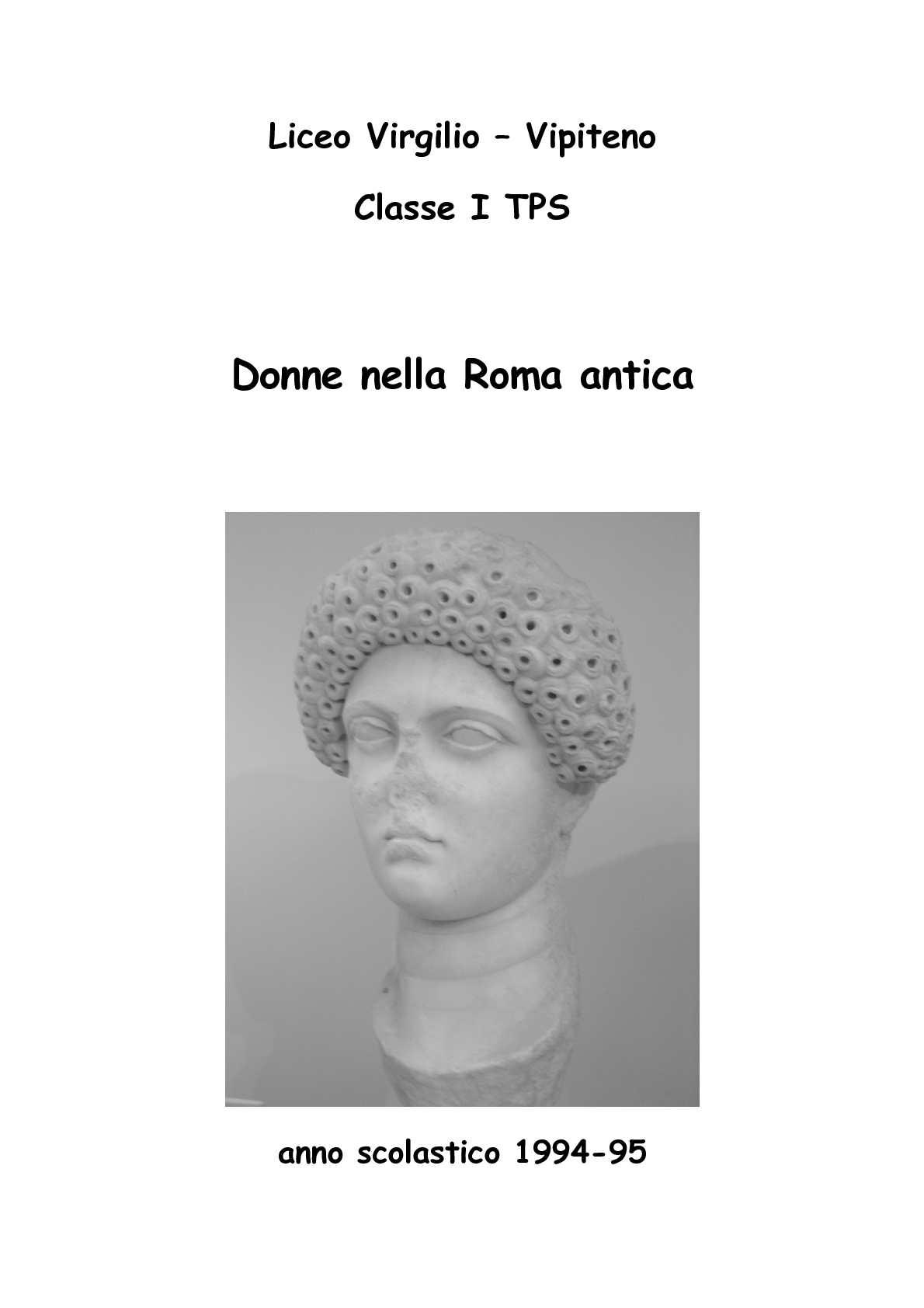 Calaméo - Donne nella Roma antica