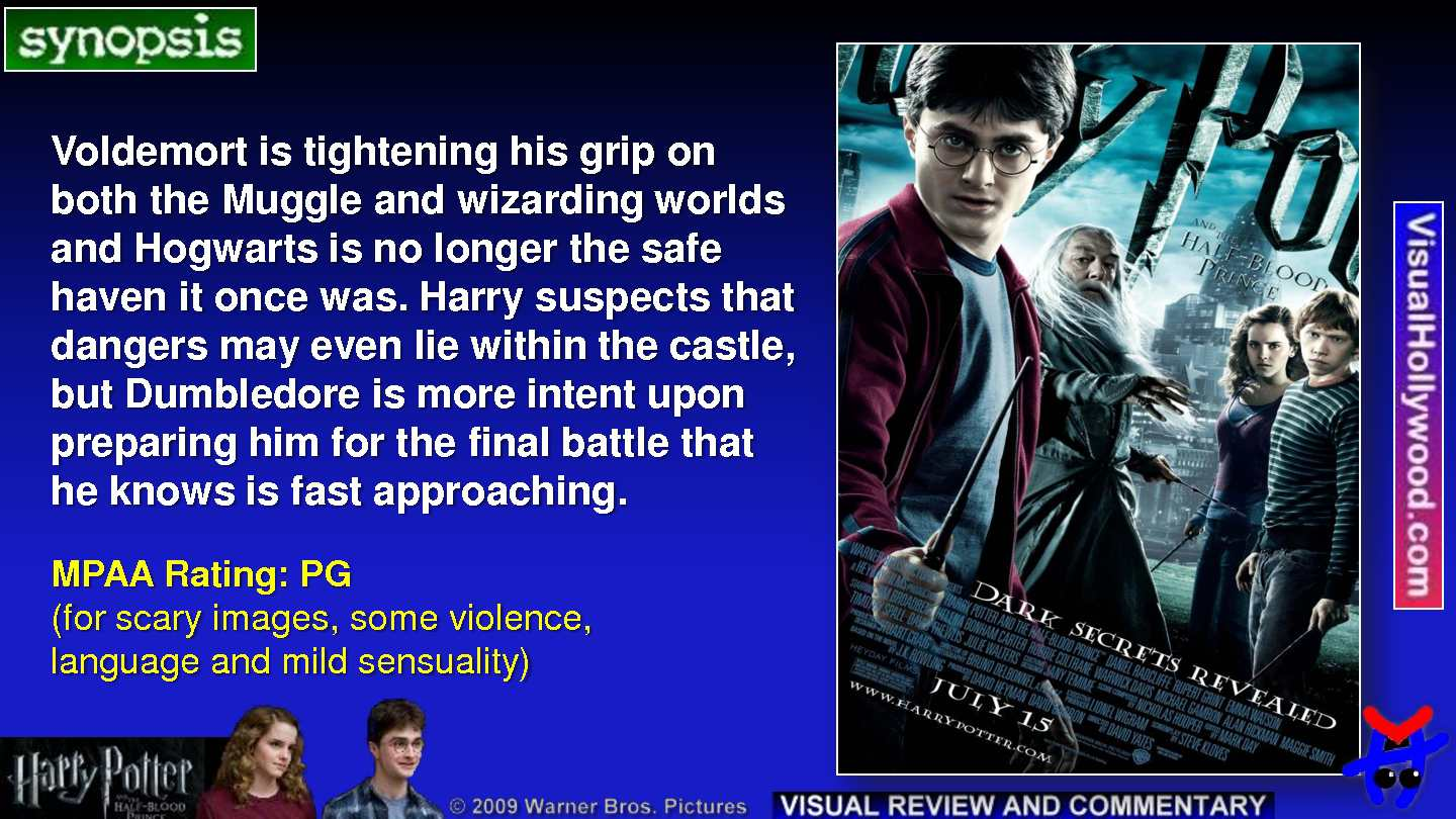 Harry Potter And The Half Blood Prince 2009 Calameo Downloader