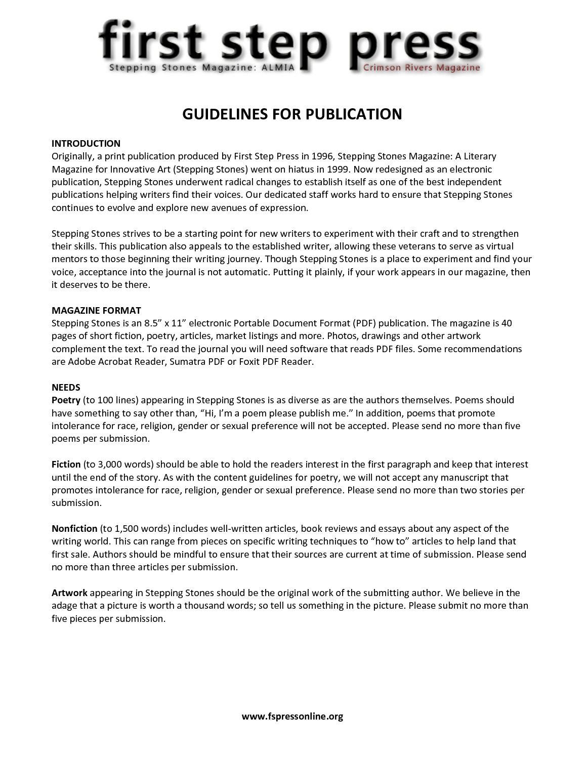 Calaméo - SSM: ALMIA Writers' Guidelines