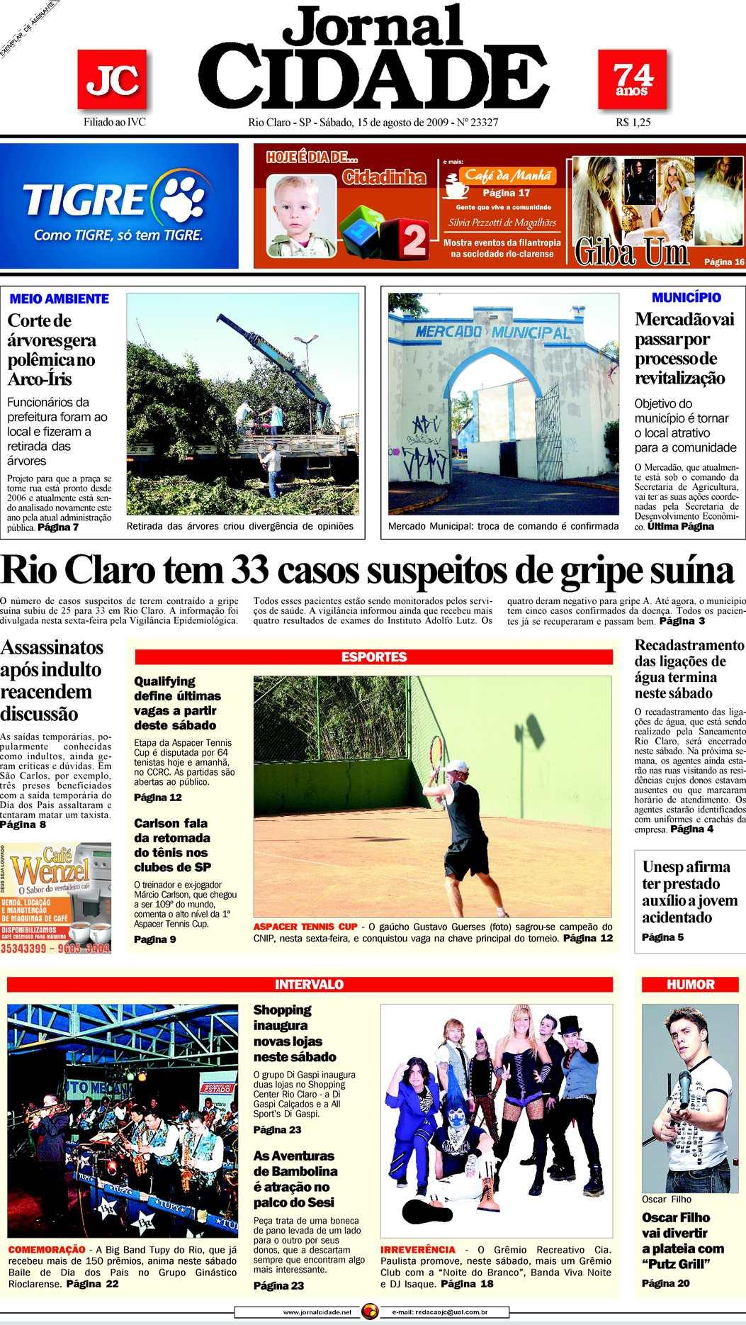 f99f43844a Calaméo - Jornal Cidade de Rio Claro - 15 08 2009