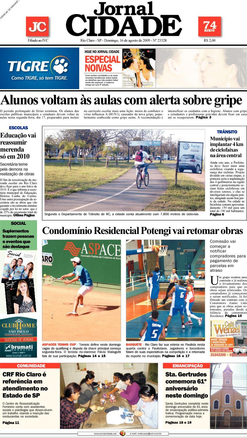 Calaméo - Jornal Cidade de Rio Claro - 16 08 2009 1abffb8034cbe