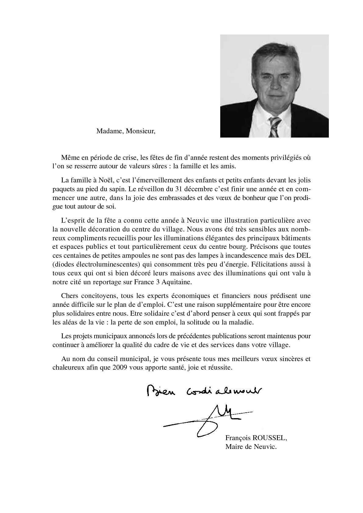 e9c1bc22fa1b43 Calaméo - Bulletin municipal Neuvic 2009