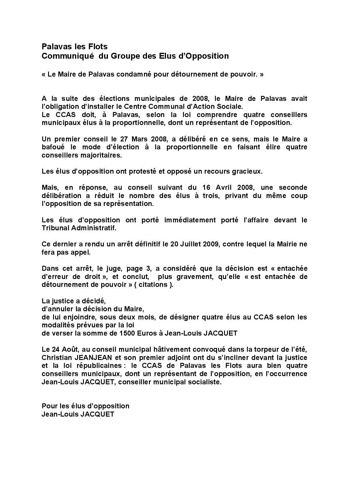 Calameo Centre Communal D Action Sociale De Palvas Communique Des