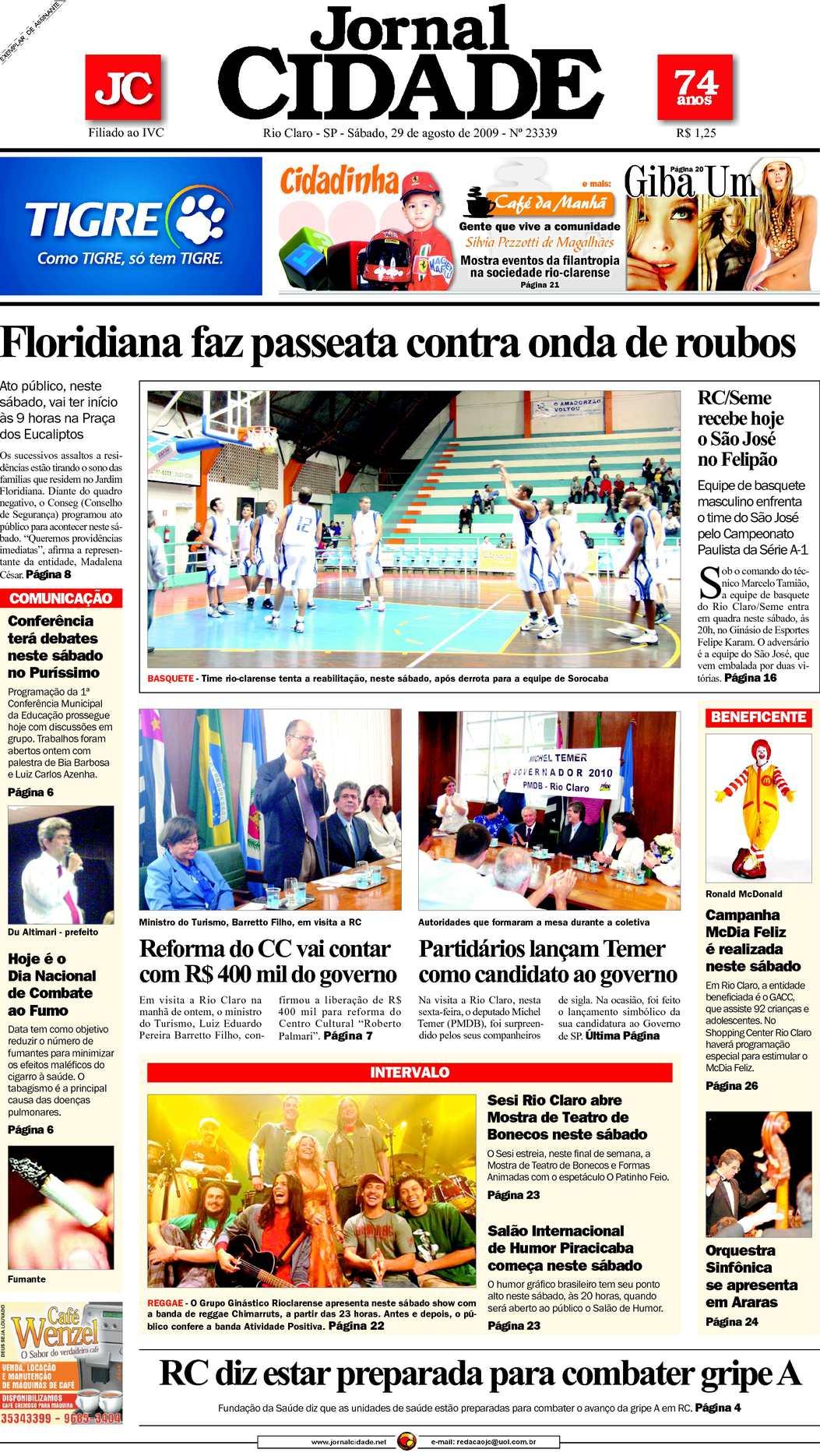 Calaméo - Jornal Cidade de Rio Claro - 29 08 2009 8ffc010ba4
