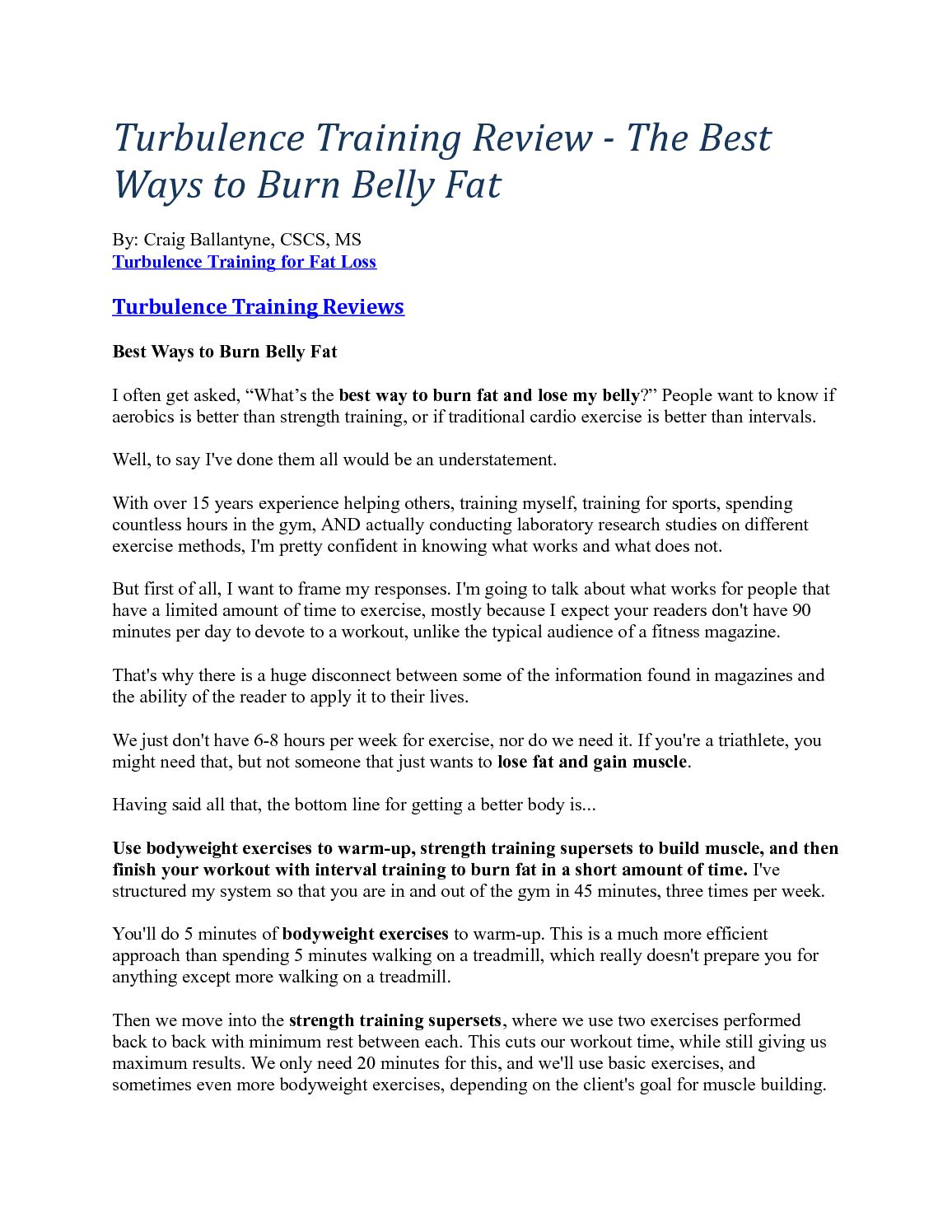 best cardio exercises to burn belly fat