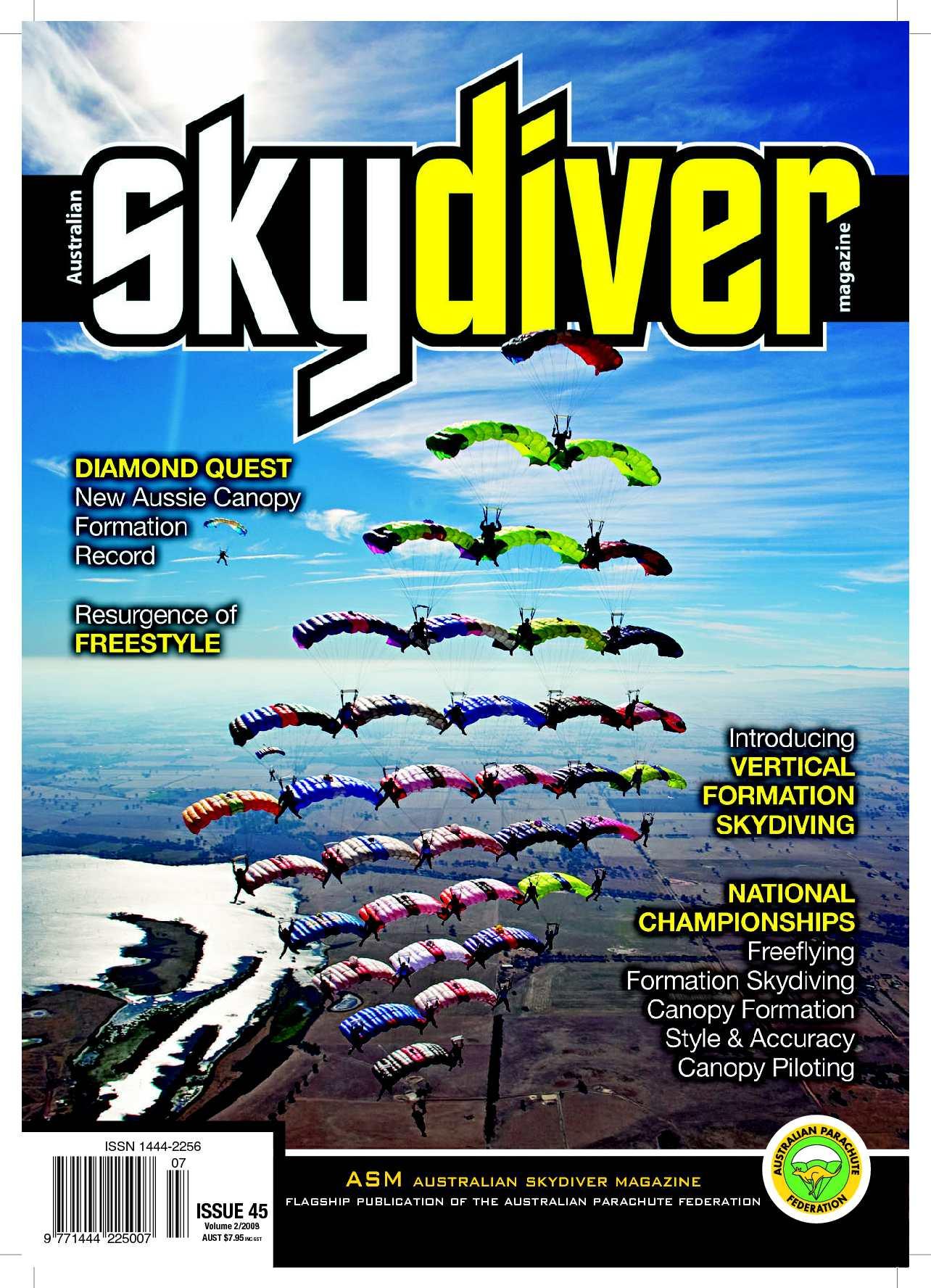 e4c113d108 Calaméo - Australian SKYDIVER Magazine Issue 45