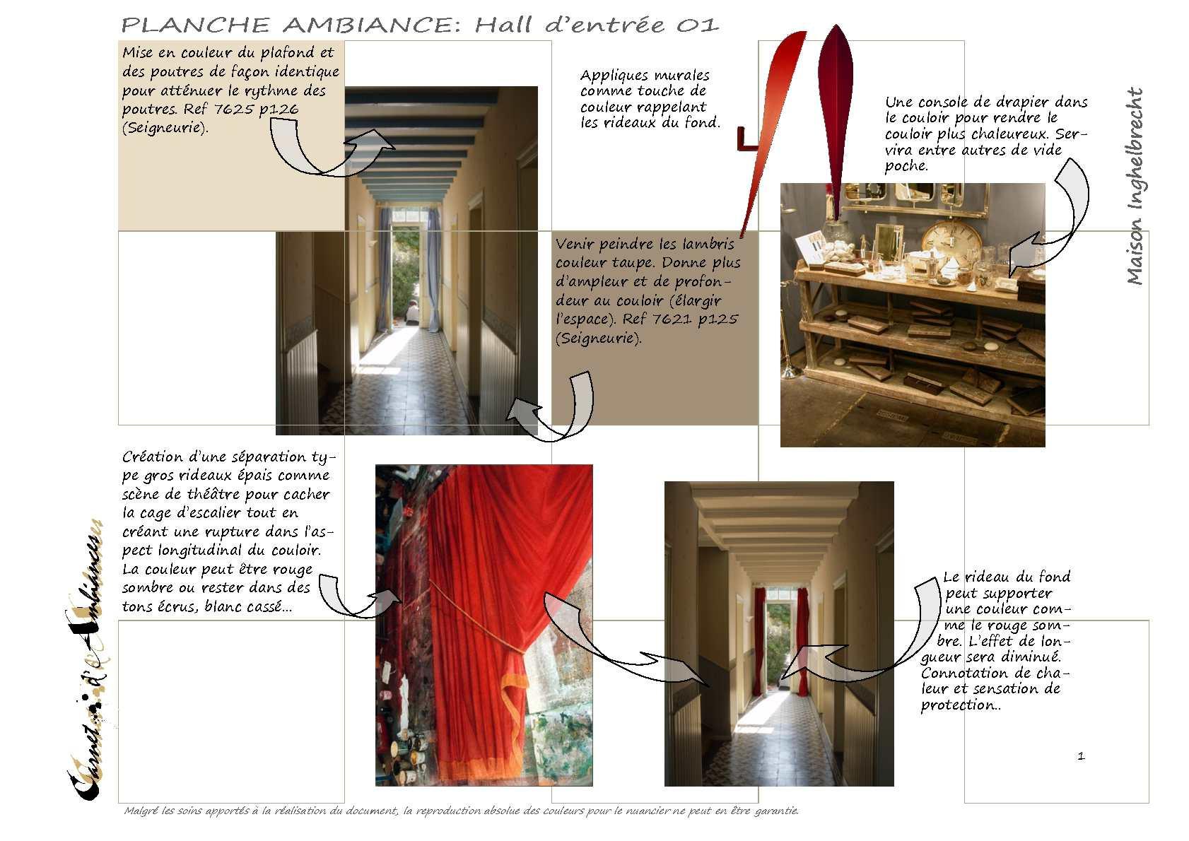 Couloir Couleur Taupe Et Lin calaméo - maison de ville : projet de decoration