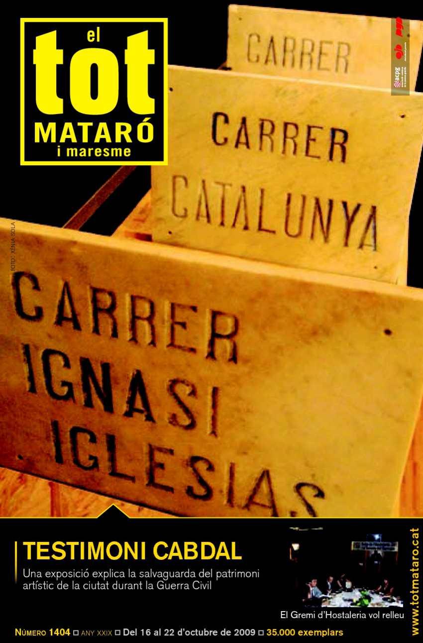 52d12d46451a0 Calaméo - EL TOT MATARÓ 1404  16 d octubre del 2009