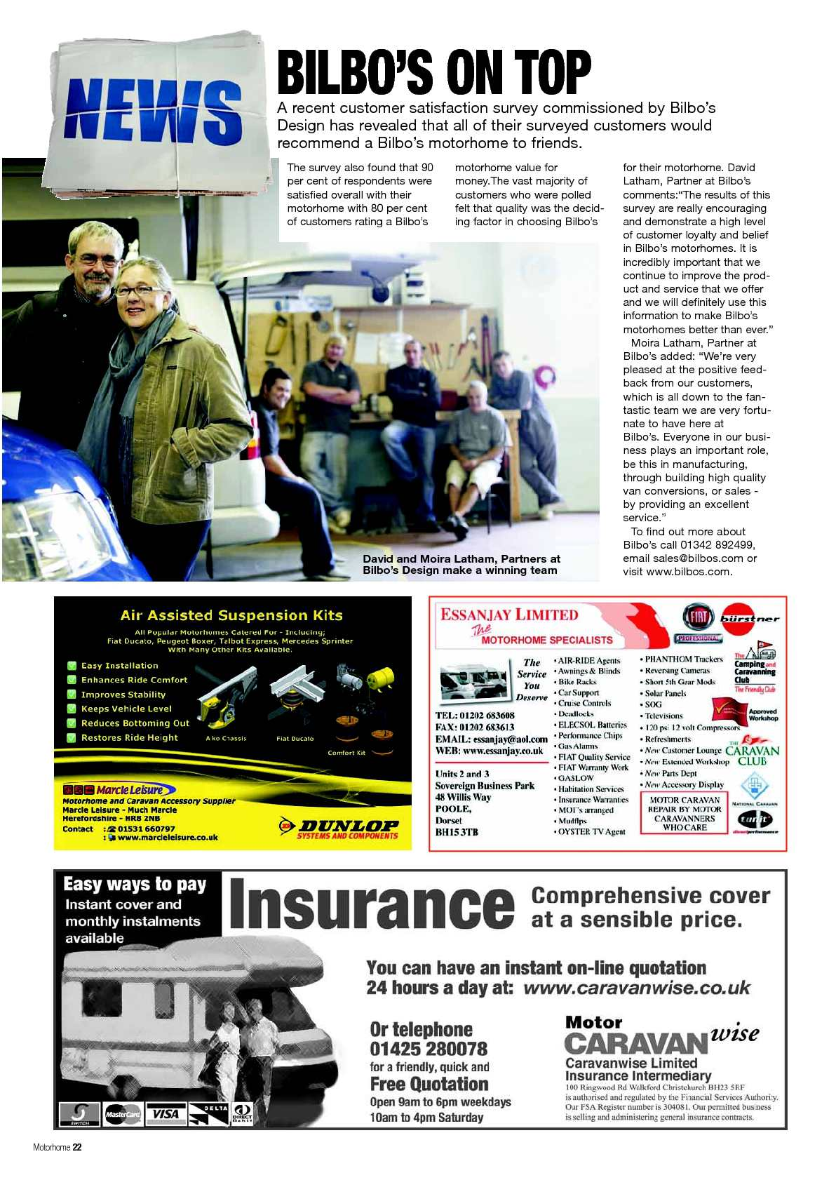 November 40   Motorhome Monthly Magazine   CALAMEO Downloader