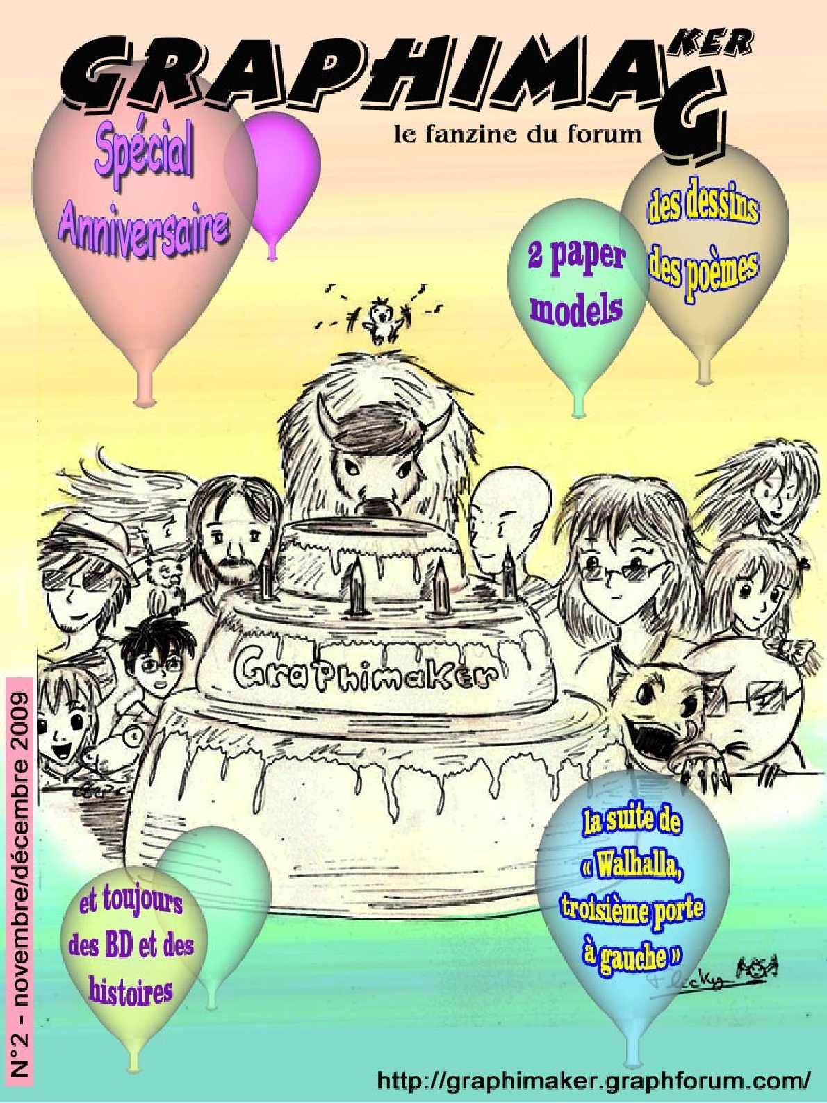 Calaméo Graphimag N2 Fanzine Du Forum Graphimaker