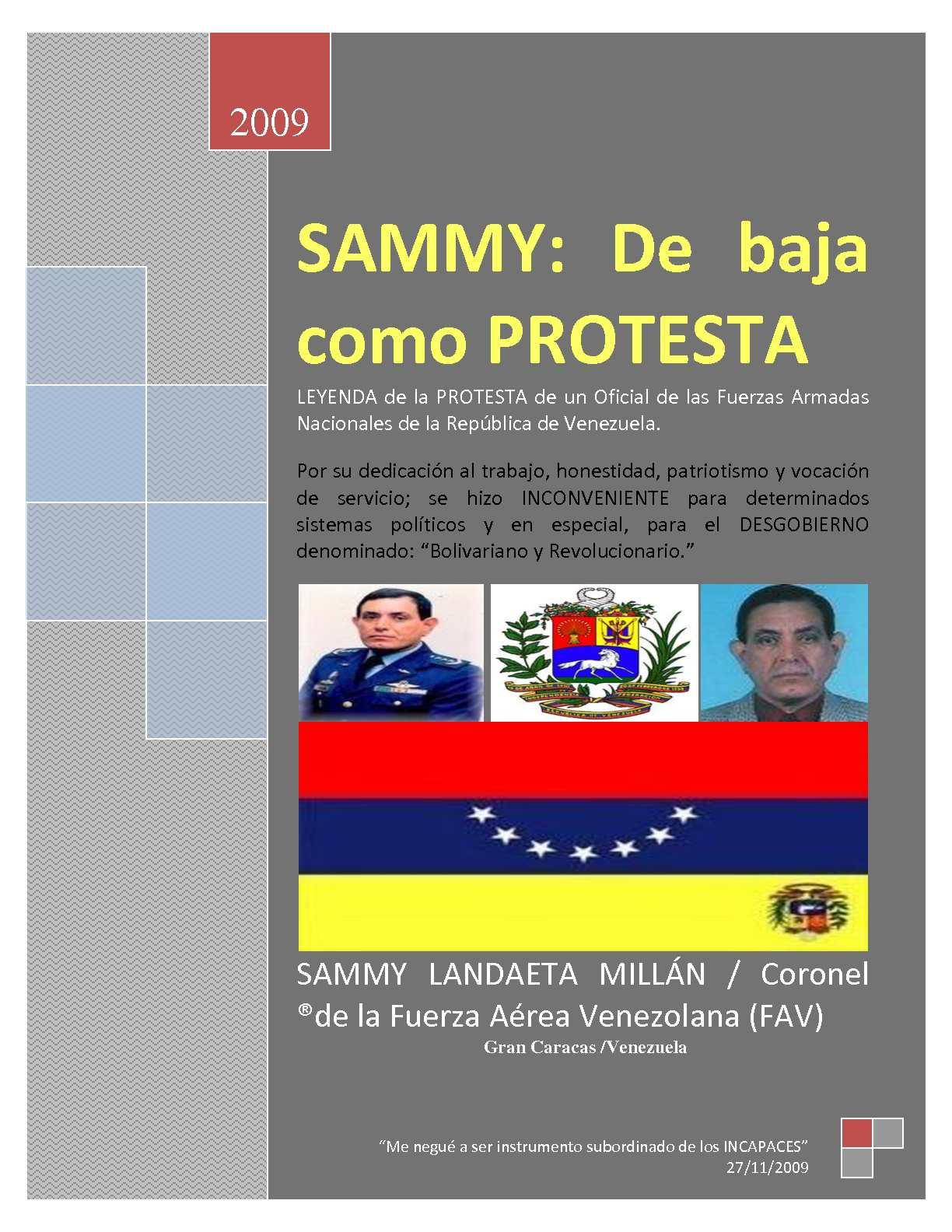 Calaméo - SAMMY  De baja como PROTESTA 40692ee0093dd