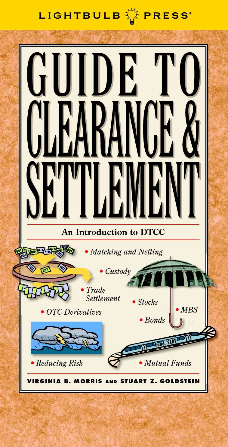 Calaméo - Guide To Clearance & Settlement