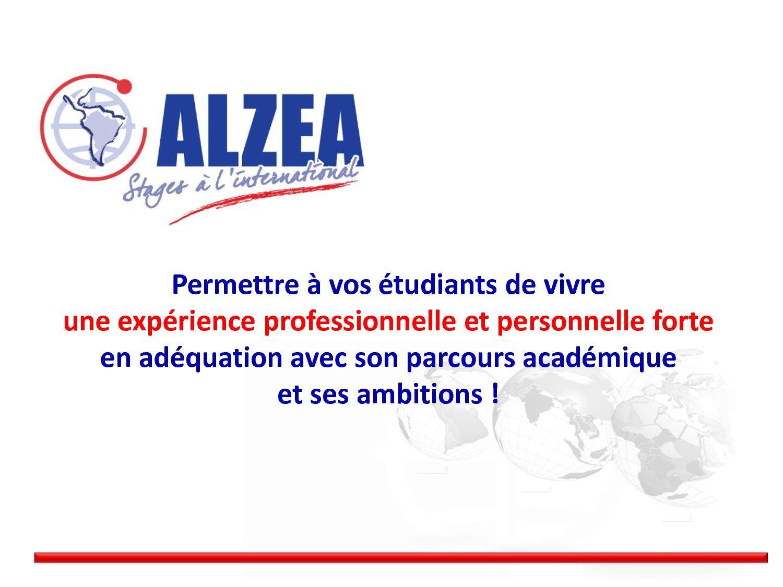 Alzea calaméo - alzea - votre recherche de stage à l'étranger