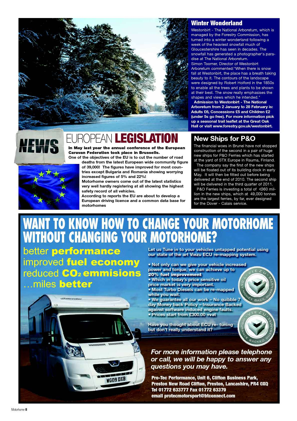 February 2010 - Motorhome Monthly Magazine - CALAMEO Downloader