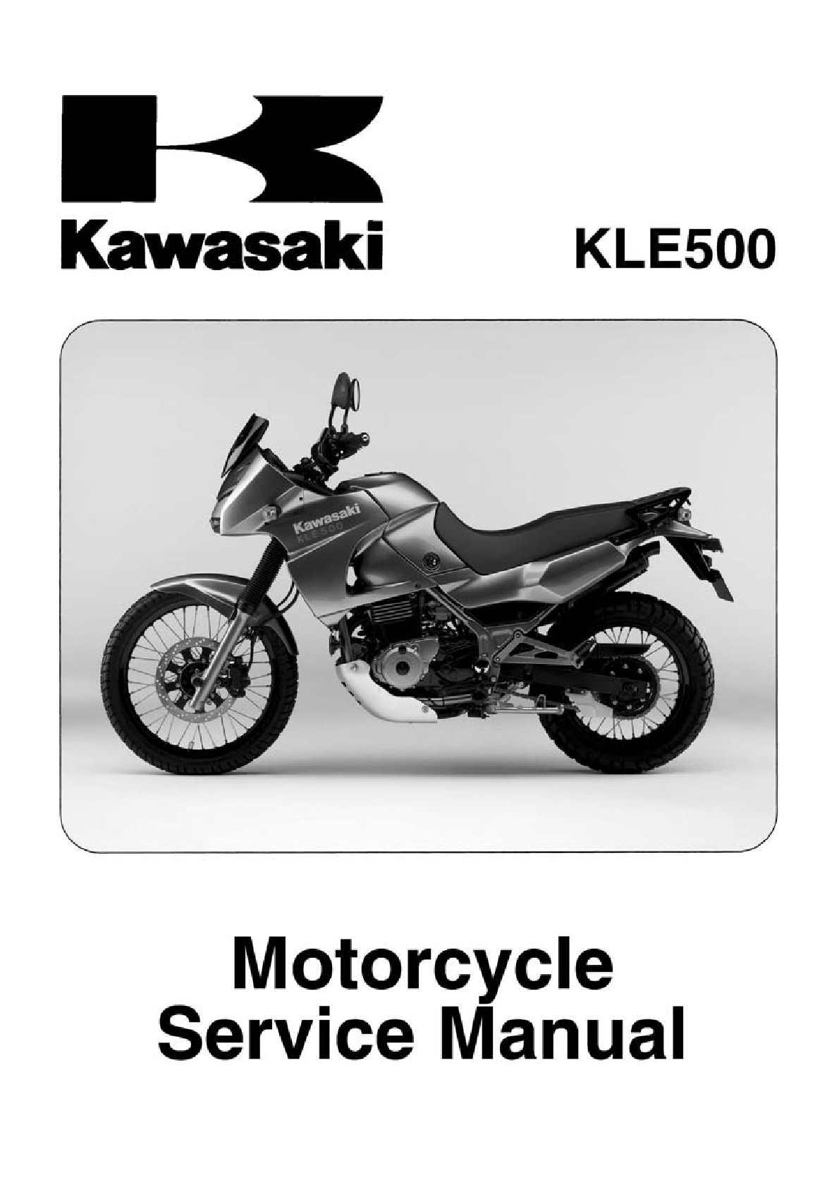 Kawasaki Kle 500 Wiring Diagram   Wiring Liry on