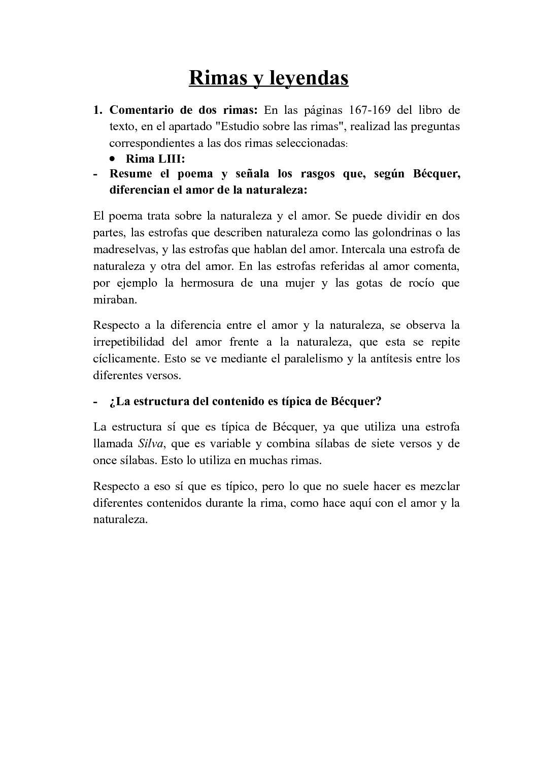 Calaméo Rimas Y Leyendas