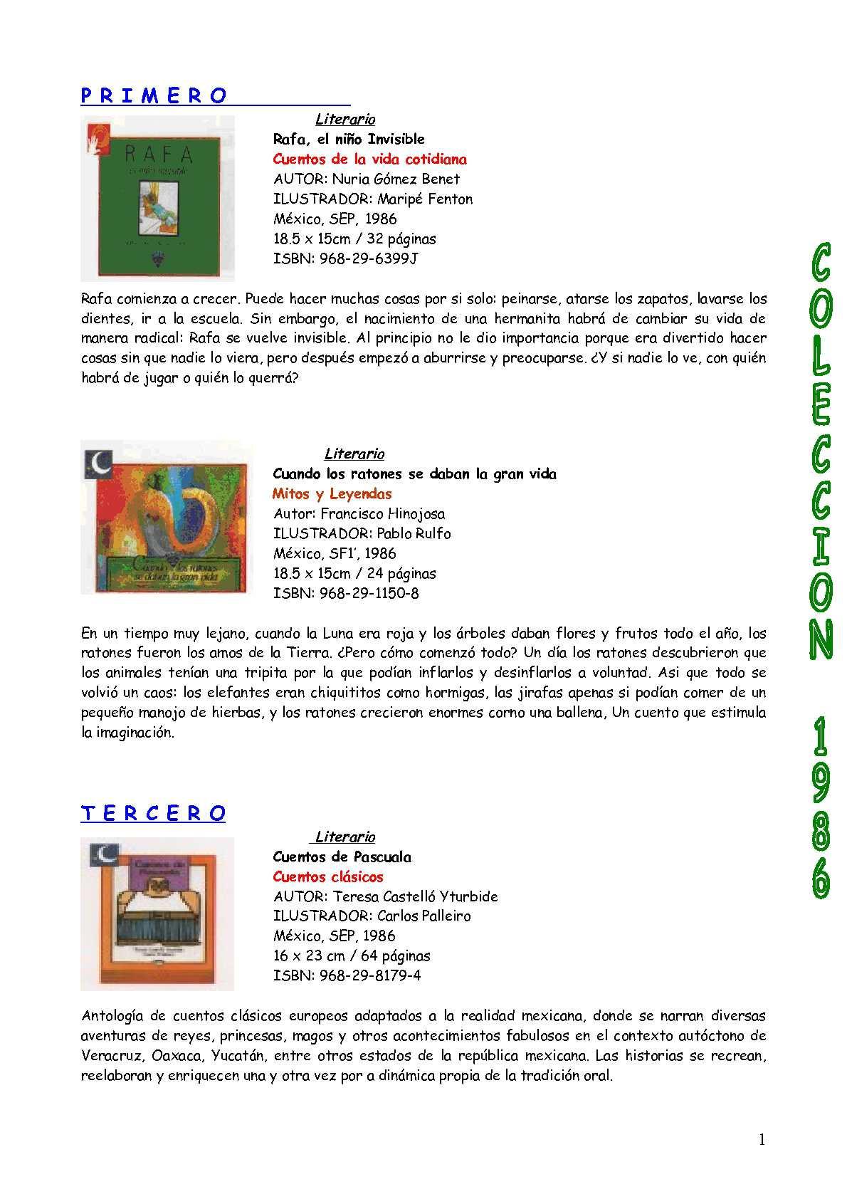b7a5cd140c67 Calaméo - Catalogo Biblioteca Escolar