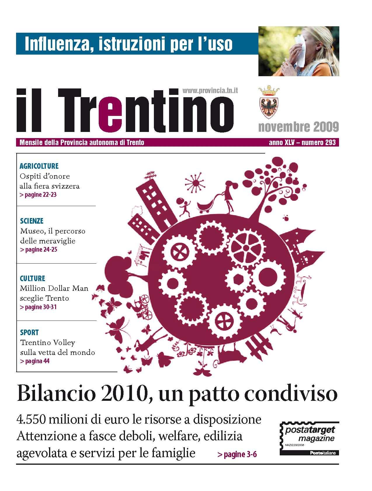 materiale selezionato prezzo competitivo gamma completa di articoli Calaméo - Il Trentino - n. 293 novembre 2009