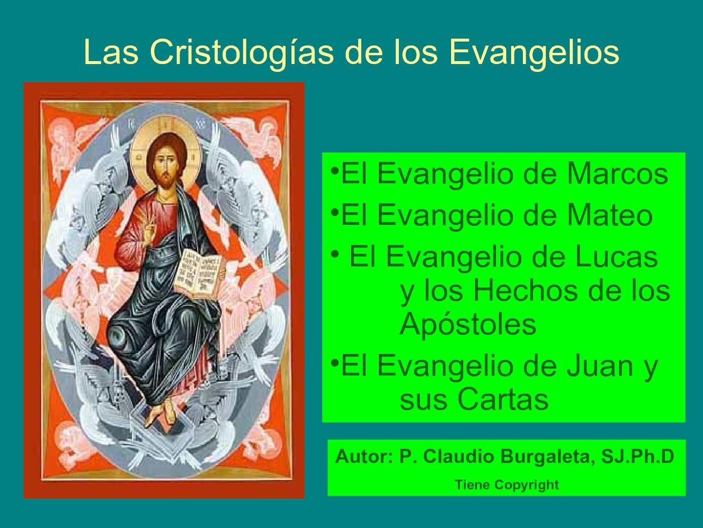 Calaméo - 3 Las Cristologias de los Evangelios.pps