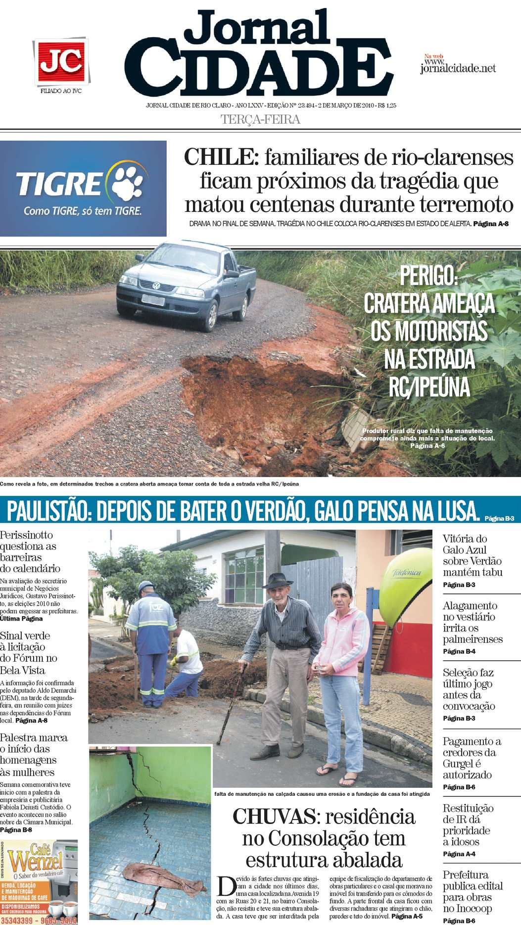 f9e34e0c0 Calaméo - Jornal Cidade