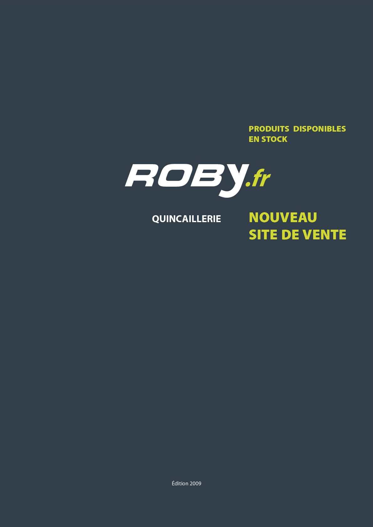 0a82775ced9f Calaméo - Roby, catalogue de fournitures en gros pour la quincaillerie,  mars 2010