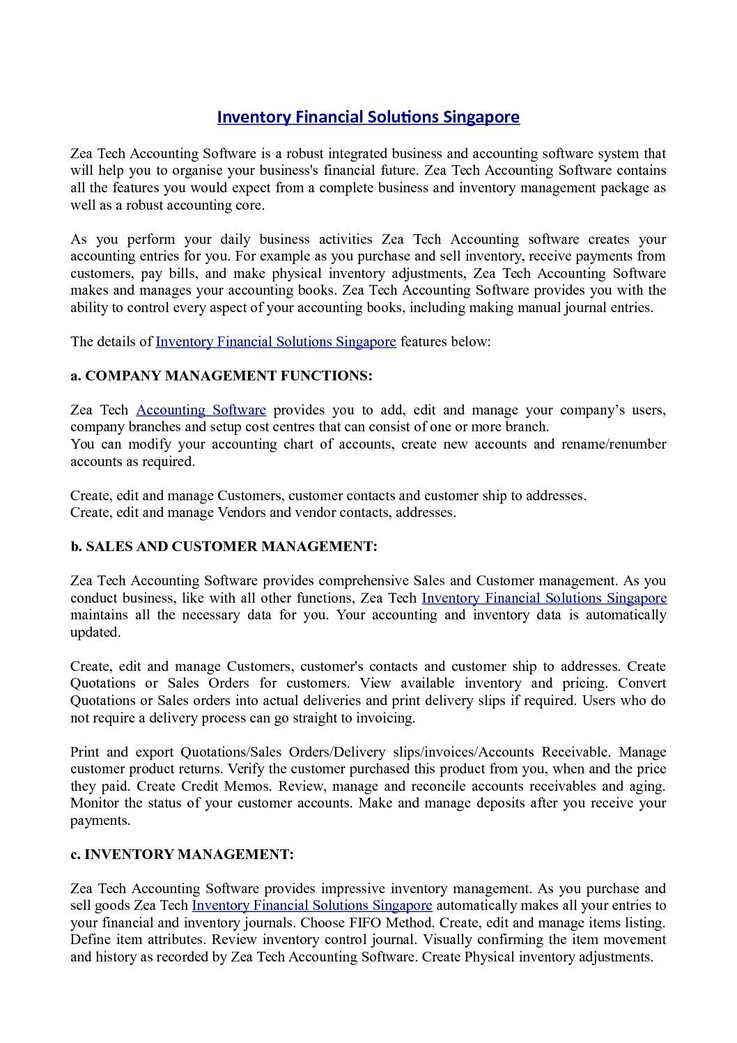 Calaméo - Inventory Financial Solutions Singapore