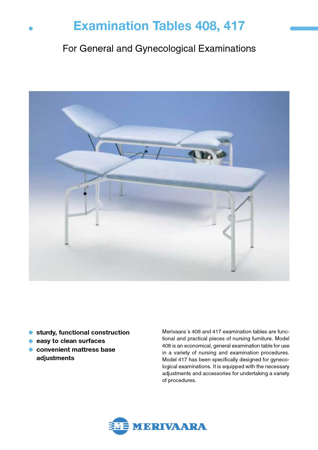 Calameo Examination Table 408 417