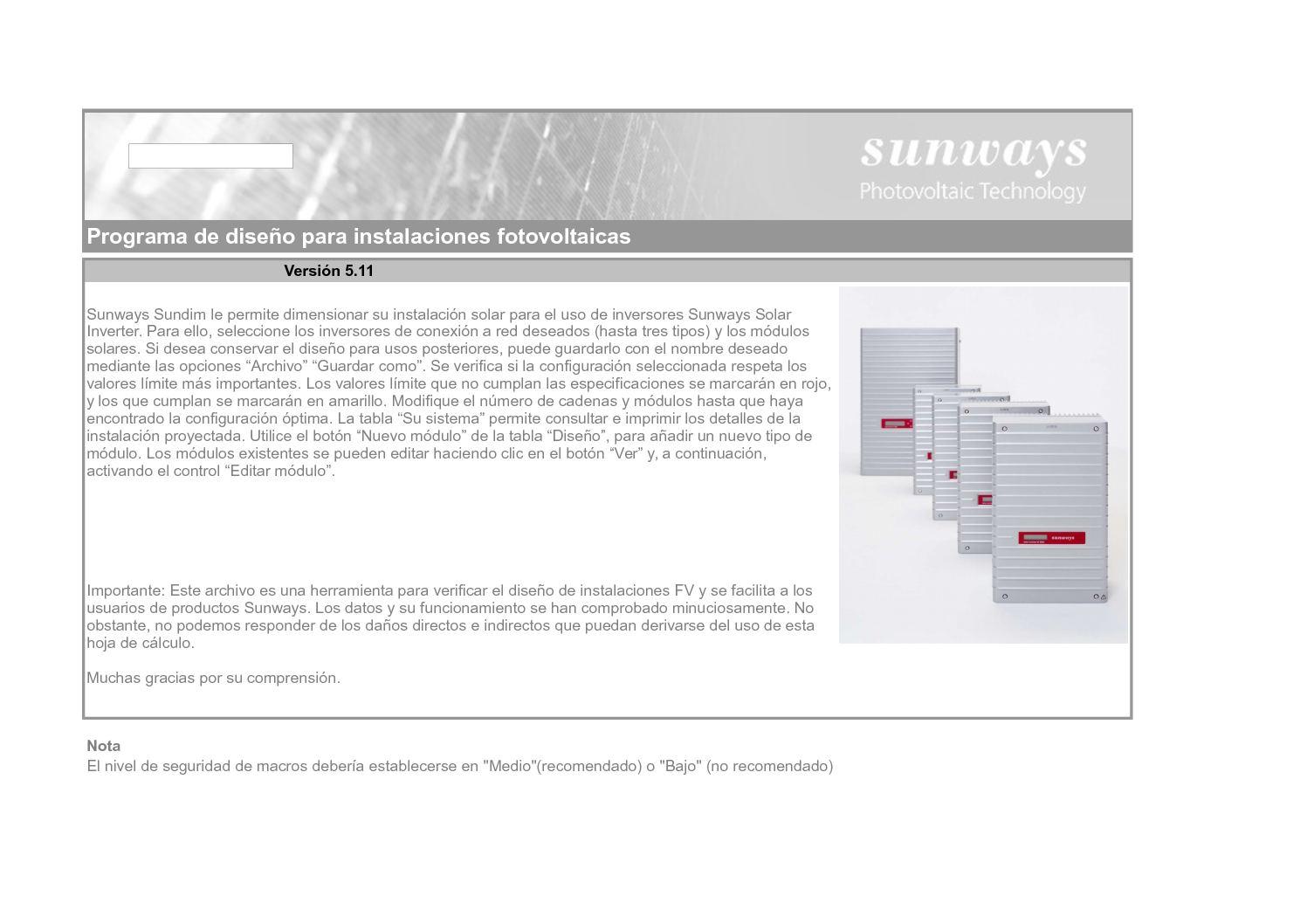 Calaméo - Sunways