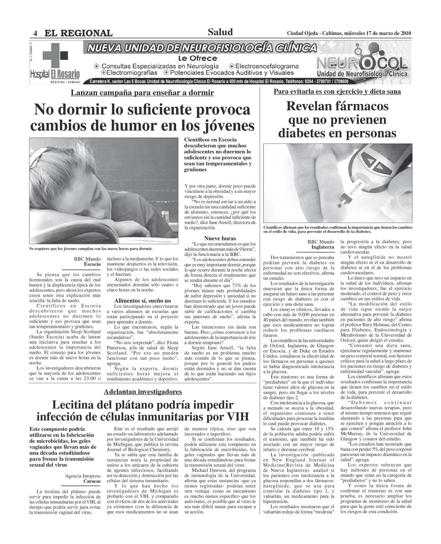 hospital de clinicas caracas neurologia