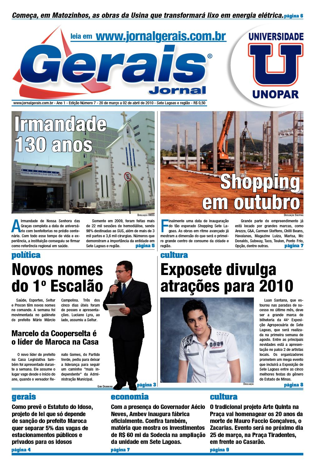 25bef2b47 Calaméo - Gerais Jornal // Ano 1 // Edição Número 7 // 20 de março a 02 de  abril de 2010