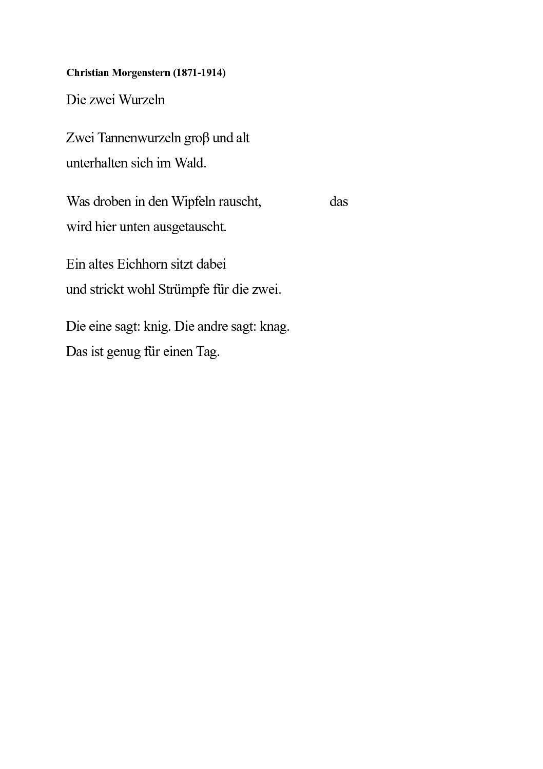 Calaméo G2 Gedicht Wurzelngeschichten