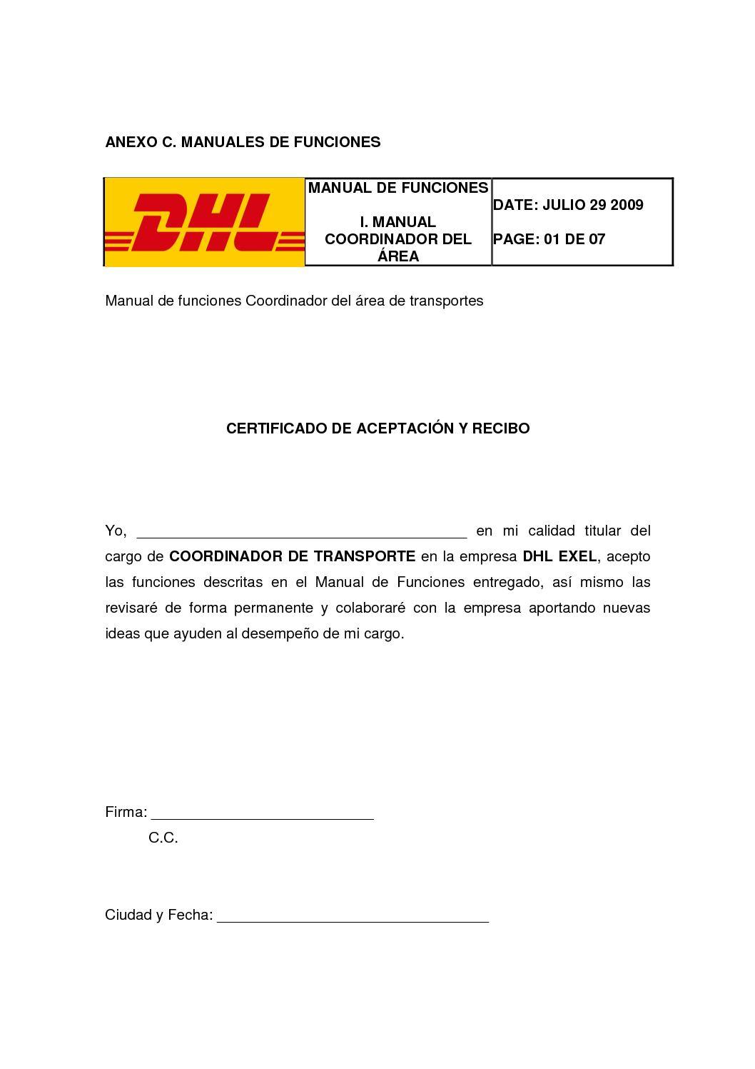 Manual de funciones y manual de procedimientos empresa: comercial nu….