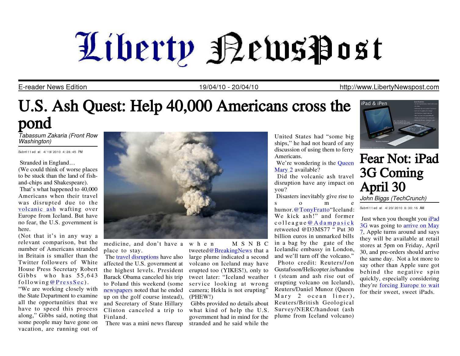 Amy Holland Pennell Wiki calaméo - liberty newspost apr-20-10