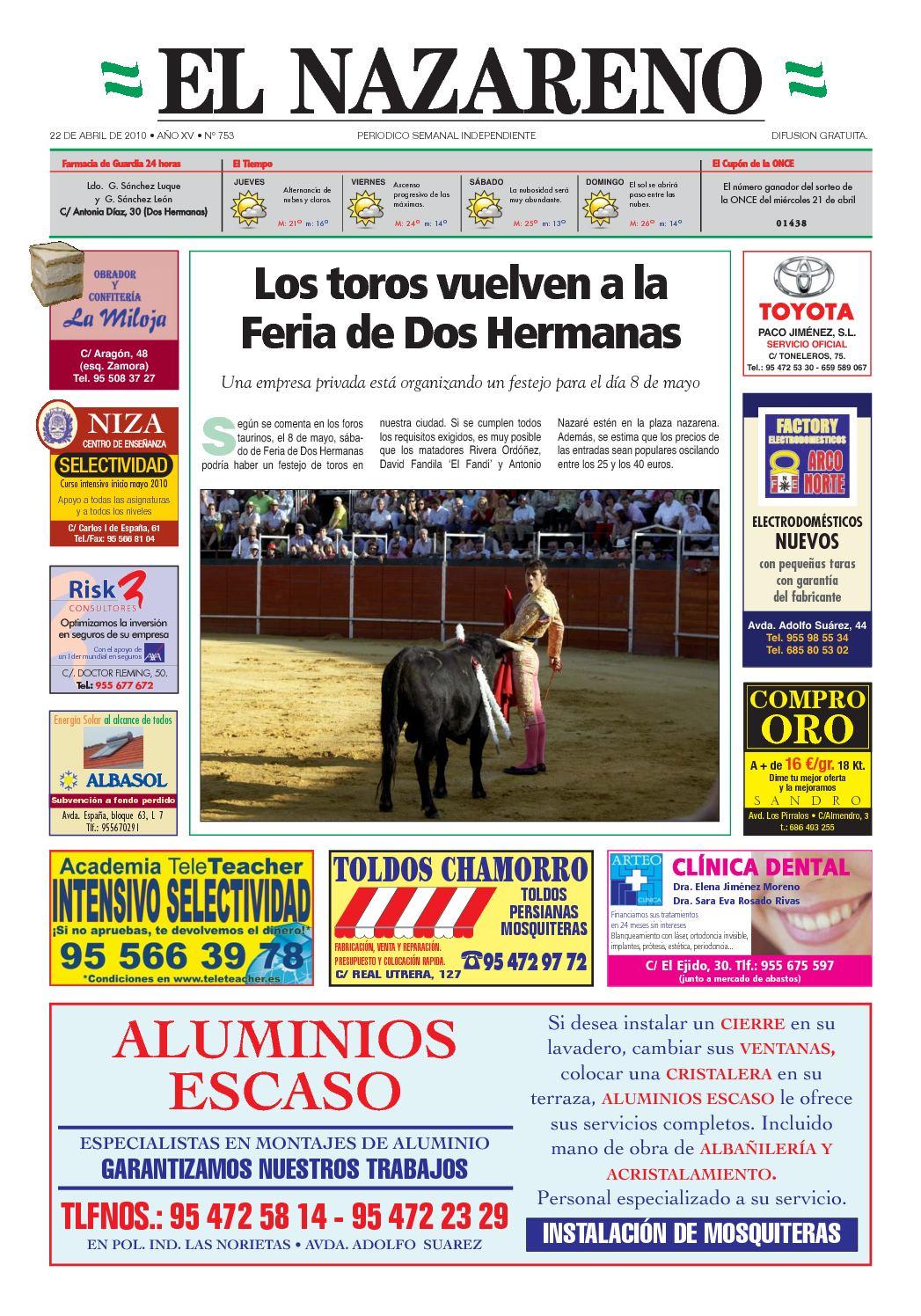 Calaméo Periódico El Nazareno De Dos Hermanas Nº 753