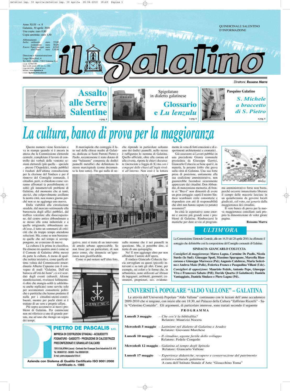 21009b0e3f Il Galatino 8 10 - CALAMEO Downloader