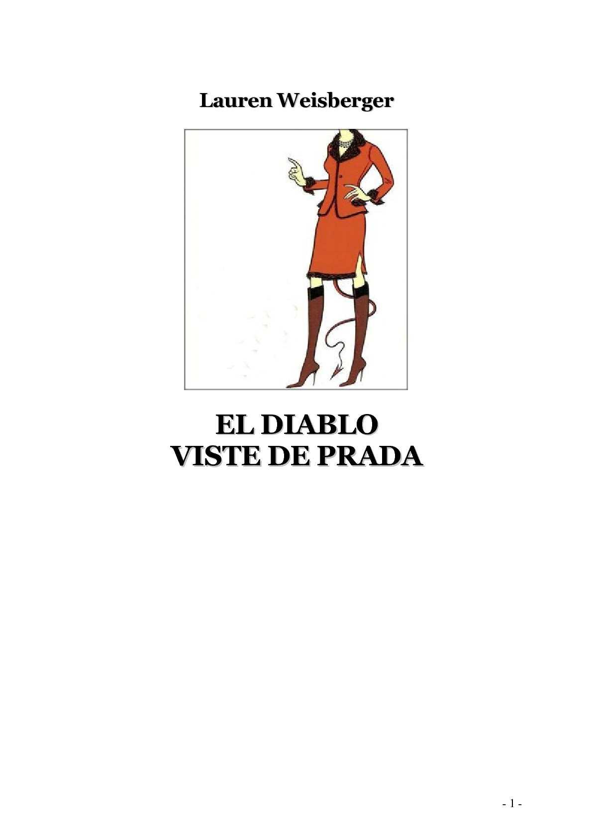 1d009539 Calaméo - Weisberger - El diablo viste de Prada