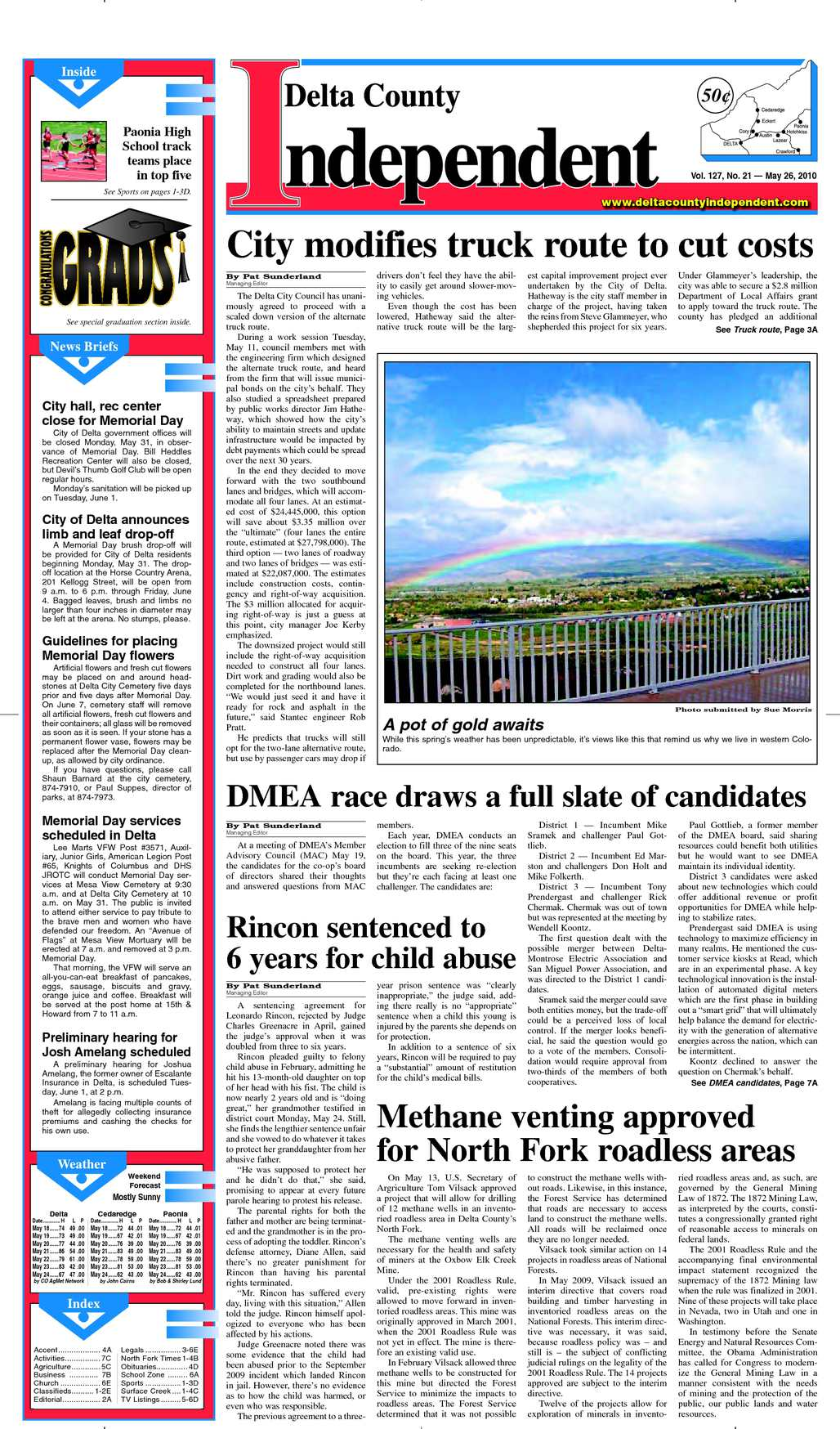 Calaméo Delta County Independent, Issue 21, May 26, 2010