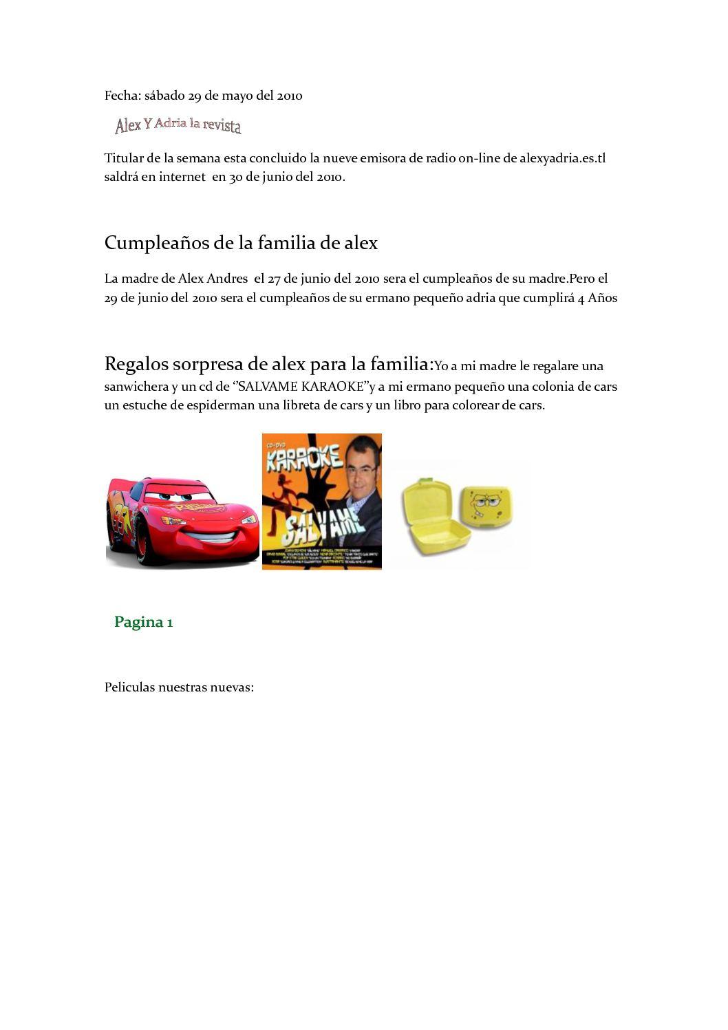 Calaméo Alexyadriaestl La Revista